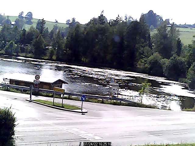 Webcam vomSchwaigsee - Wildsteig (zwischen Rottenbuch, Bad Bayersoien und Steingaden)